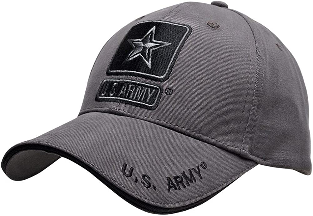 U.S. Army Star Logo 4 years warranty Gunmetal Grey Hat Spasm price