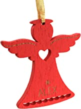 Ganz Personalized Mini Woodstock Red Angel Christmas Ornament; Alex