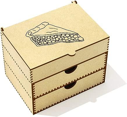 Azeeda  Cherry Pie Slice  Vanity Case Makeup Box  VC00020510