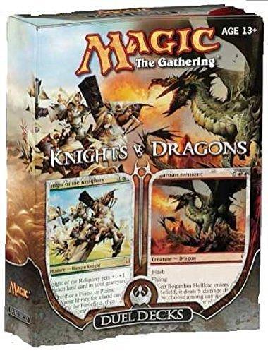 Magic The Gathering: MTG Duel Decks: Knights vs Dragons (Two 60 Card Decks)