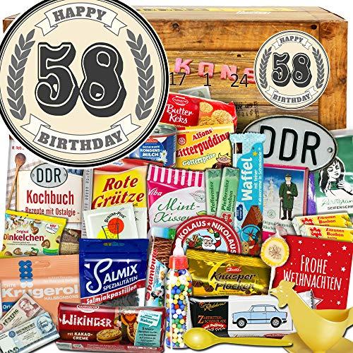 58 Geschenke zum Jubiläum - DDR Adventskalender - Adventskalender DDR Geschenkidee