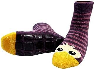 Shimasocks, Calcetines de zapatos de niños de ABS cabeza de pato: 15/18 y 74/80, color: lila