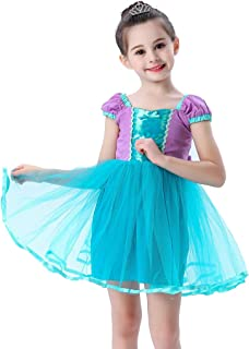 COUCOU Age Princess Dress Up Costumes for Toddler Girls Halloween Christmas Fancy Party with Accessories