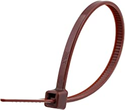 SecureTM Cable Ties 4 Inch Brown Miniature Nylon Cable Tie