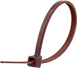 4 Inch Brown Miniature Nylon Zip Tie - MS3367-4-1 - 100 Pack
