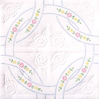 18 stamped quilt blocks