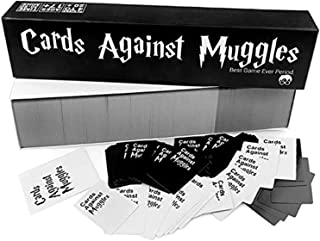 Cards against Muggles - Harry Potter Board Game - The adult Party Game about Your Friends - Family Cards Game