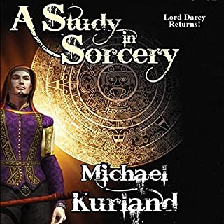 A Study in Sorcery audiobook cover art