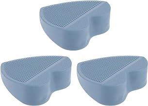 DOITOOL 3 Stks Deur Stoppers Rubber Deur Stop Wedge Hartvormige Deur Stop Deur Gaps en De Lock-Outs voor Tapijt Heavy Duty...