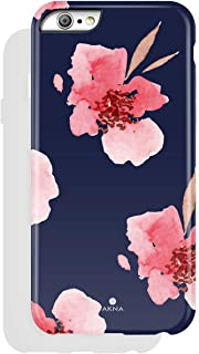 iPhone 6/6s Case Floral, Akna Charming Series High Impact Silicon Cover with Full HD+ Graphics for iPhone 6 & iPhone 6s (742-U.S)