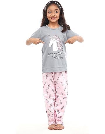 MARKS /& SPENCER GIRLS LONG LEG PYJAMA SET AGES 5-6 9-10 /& 13-14 YRS