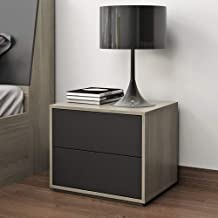 MEI XU Nightstand Bedside Table, Nordic Simple Modern Bedside Table Small Apartment Fashion Small Storage and Storage Cabi...