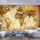 Papier peint Carte du monde Vintage 200x140 cm