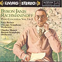 Rachmaninoff: Piano Concerto 1 & 3 by Byron Janis (1997-04-15)