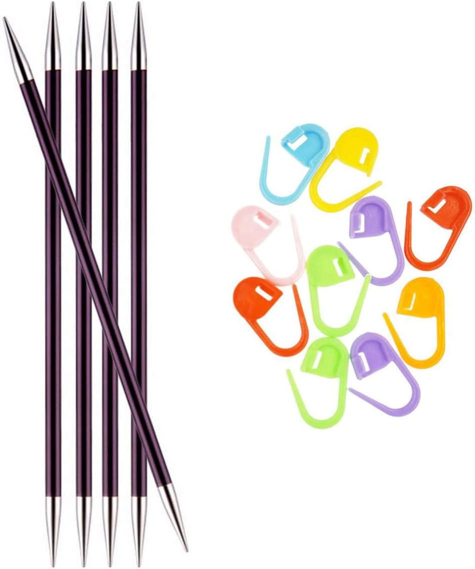 Knitter's Ranking TOP6 Pride Knitting Needles Zing inch 8 DPN Pointed Double Choice
