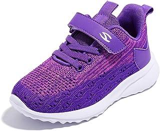 Baskets Enfant Sneakers Basses Respirant Chaussure de Course Fille Garçon Mode Sport Running Shoes Compétition Entraînemen...