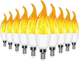 Best flicker flame chandelier light bulbs Reviews