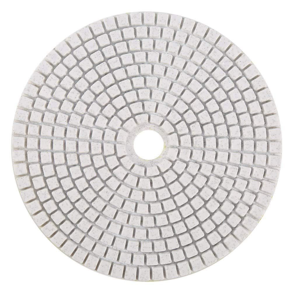 3000 ROSEBEAR 5 Pulgadas 125 Mm Almohadillas de Pulido de Diamante H/úmedo Kit de Discos de Pulido para M/ármol de Hormig/ón de Granito