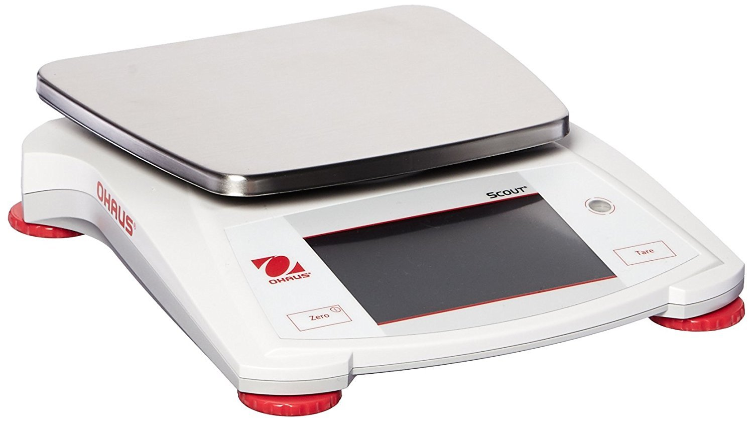 STX8200 Ohaus Scout Portable Balance x with 8200g Opening large release sale 1g Touchscreen online shop