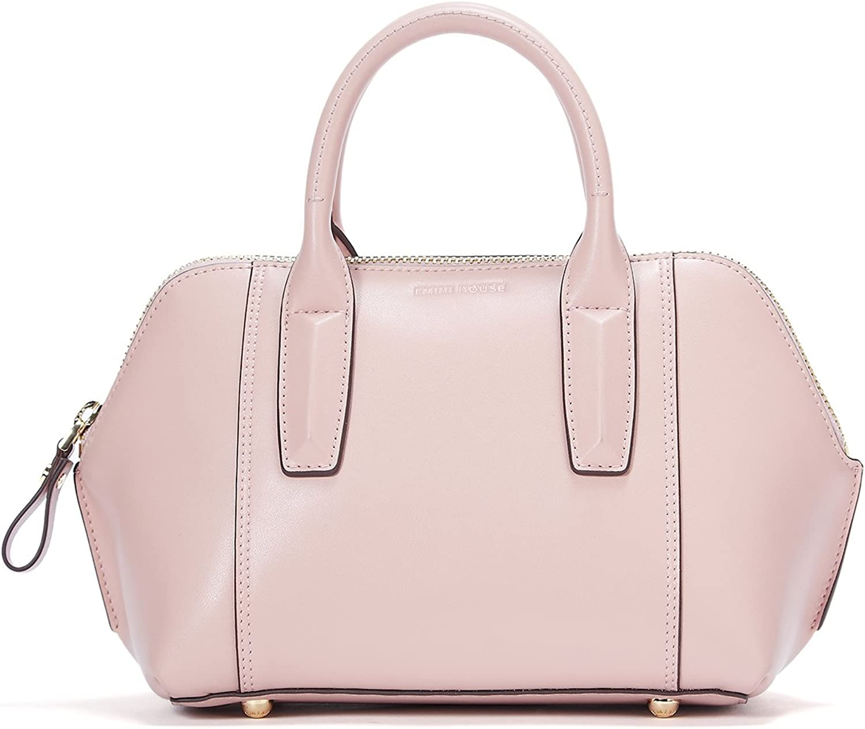EMINI HOUSE Casual Bowler Handbag with Large Capacity Women Handle Bag