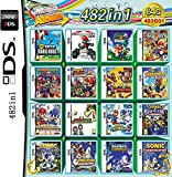 482 Jeux en 1 NDS Game Pack Card Super Combo Multi Cartouches pour DS NDS NDSL NDSi 3DS 2DS XL