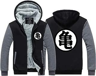 Dragon Ball Z Kame Goku Hoodie Anime Cosplay Thick Jacket Fleece Coat Sweatshirt