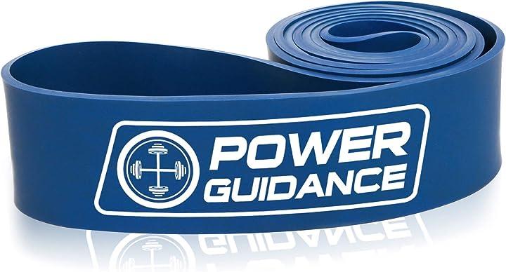 Bande di resistenza,pull up bande,resistenza band,fascia per esercizi per stretching del corpo power guidance B018JZZ444