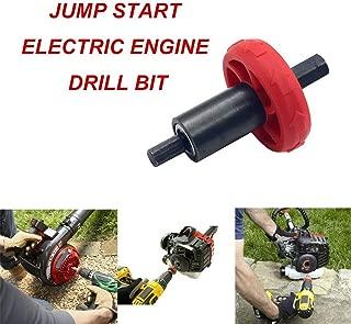 Meiyum Engine Starter, Jump Start Electric Drill Bit Adapter for Gas Trimmer Blower Tool for Troy-Bilt Plug Button, Other Handheld Equipment