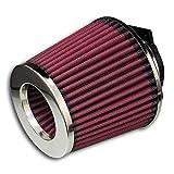 JOM Car Parts & Car Hifi GmbH 40301 Sportluftfilter Power- Filter, 60,70,76,84 und 90mm Anschluß
