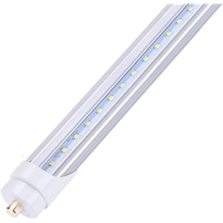"""NYLL Cooler lamp 6 FT// 72/"""" Plug /& Play LED Tube 5000K Refrigeration Daylight T8 LED Lamp Directly Relamp 70W Fluorescent Bulb F70T8 Without rewiring or Modification - Ballast Required!"""