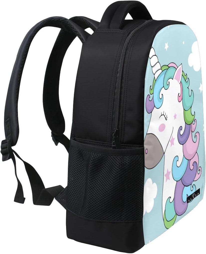 Backpack Rucksack Laptop Bag Shoulder Daypack for Student Standing ...