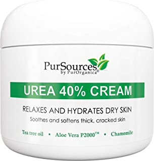 PurSources Urea 40% Foot Cream 4 oz – Best Callus Remover – Moisturizes &..