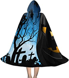 Khdkp Kids Hooded Cloak Cape, Role Play Costumes Halloween Decoration