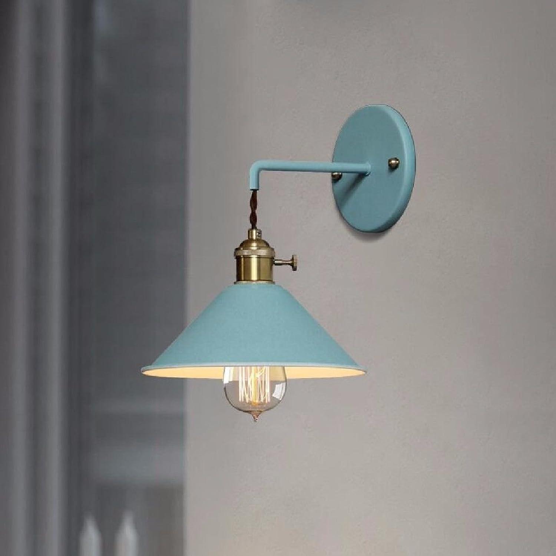 StiefelU LED Wandleuchte nach oben und unten Wandleuchten Treppe Wandleuchten in Wohnzimmer, Schlafzimmer schwarz, Wandleuchten, Blau