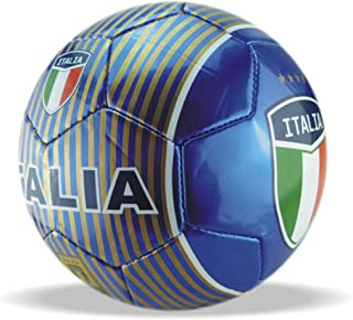 Machine Stitch Soccer Ball with Country Name Design A Size: 5