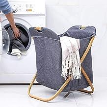Room Service Cart Laundry Tool Cart Laundry basket Single laundry storage basket canvas laundry basket for Finishing/Stora...