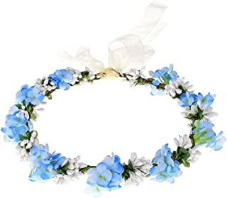 Love Sweety Nature Flower Crown Fruit Headband Boho Garland Wedding Photo Prop