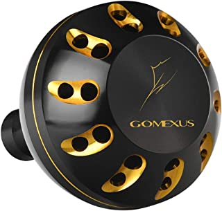 GOMEXUS Power Knob Drill Fitment for Daiwa BG Penn Spinfisher Battle II Pursuit 45mm 47mm Metal