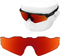 OOWLIT Replacement Lenses Compatible with Oakley Radar EV Path Sunglass