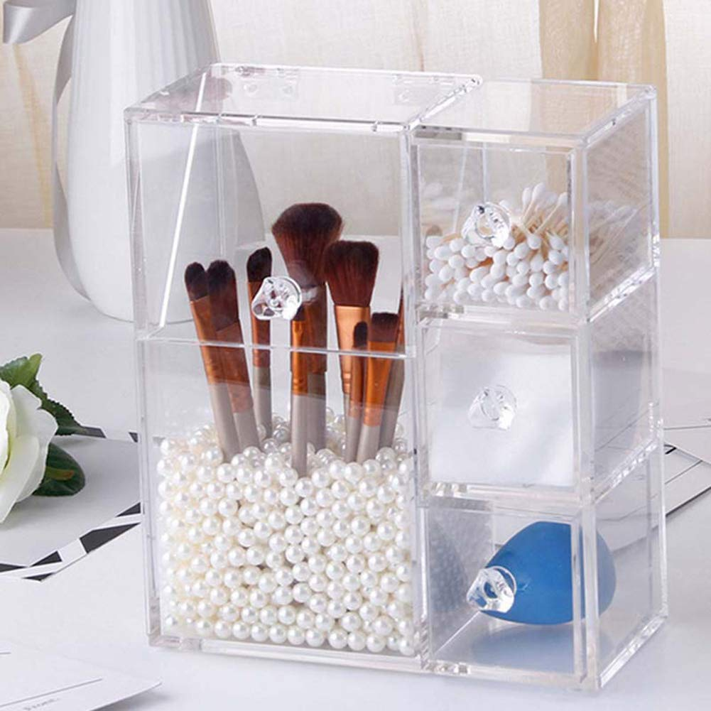 Non-toxic Cotton Swab High quality Container Flip Multifunctional C mart Dustproof