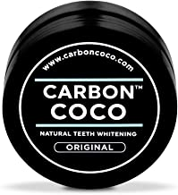 Carbon Coco   Original Flavor   Activated Charcoal Teeth Whitening Powder   Alternative to Charcoal Toothpaste, Strips, Kits, & Gels