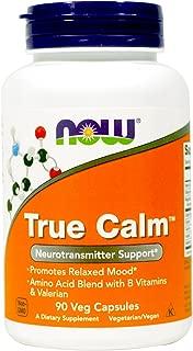 Now Foods True Calm Amino Relaxer, 90 Veg Capsules (Pack of 2)