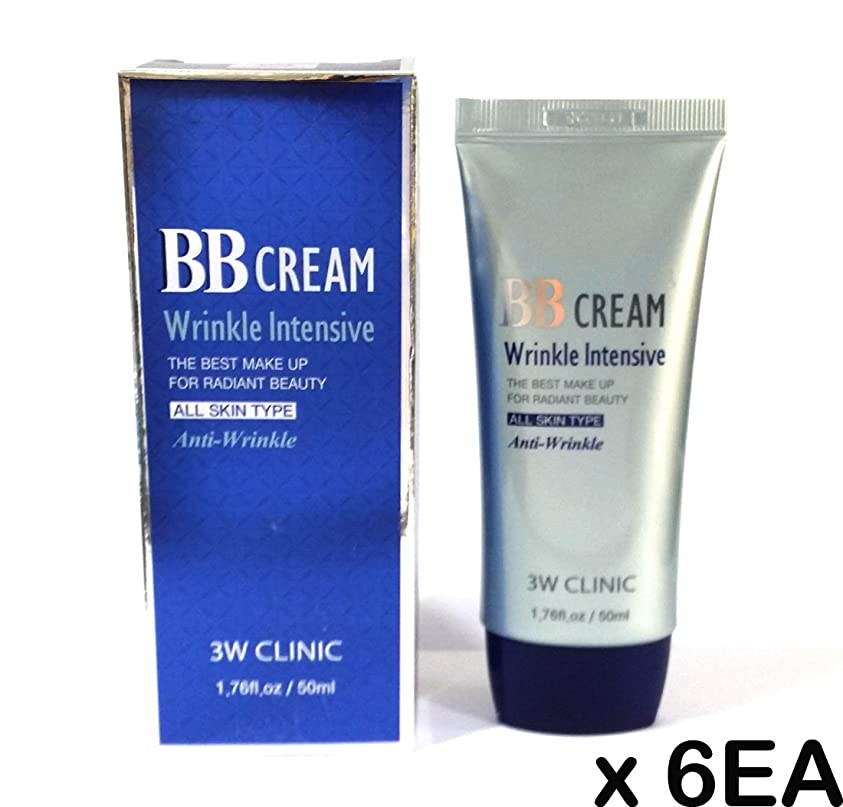 [3W Clinic] インテンシブBBクリーム50ml(1.76fl.oz)X 6EA / 韓国化粧品 / Intensive BB Cream 50ml(1.76fl.oz) X 6EA / Korean Cosmetics [並行輸入品]