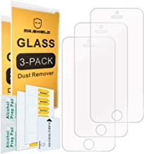 [3-Pack]- Mr.Shield for iPhone SE/iPhone 5/5S / iPhone 5C [Tempered Glass] Screen Protector [Japan Glass with 9H Hardness] with Lifetime Replacement