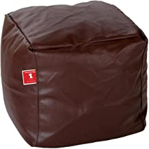 Bean Bags Bean Bag Footrest Small Without Fillers Cover (Brown)