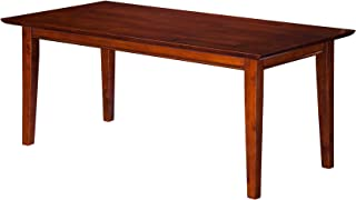 Atlantic Furniture AH15104 Shaker Coffee Table, Walnut