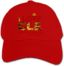 Xl995 I Love CLE Defend The Land Hats,Men's and Women's Baseball Caps