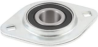 uxcell a13042400ux0510 Stainless Steel Pillow Block 17mm x 25mm x 22mm Screw Set Ball Bearing, 2.2000000000000002