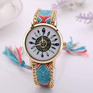 wall clock, Women's Wrist Watches Ladies Series Girls Watch Female for Women Ladies Watch Women's Bracelet Watch,Colour Na...