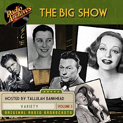 The Big Show, Volume 3 audiobook cover art